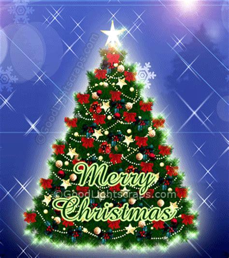 blinking christmas tree lights ravishment beautiful merry christmas wishes animation gif