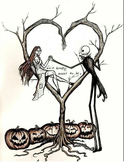 tattoo nightmares wear same clothes jack and sally the nightmare before christmas disney