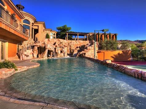 s day house by water mansion with a water park in the backyard neatorama