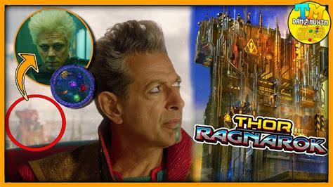 el coleccionista de mundos youtube el coleccionista con gema del infinito en thor ragnarok
