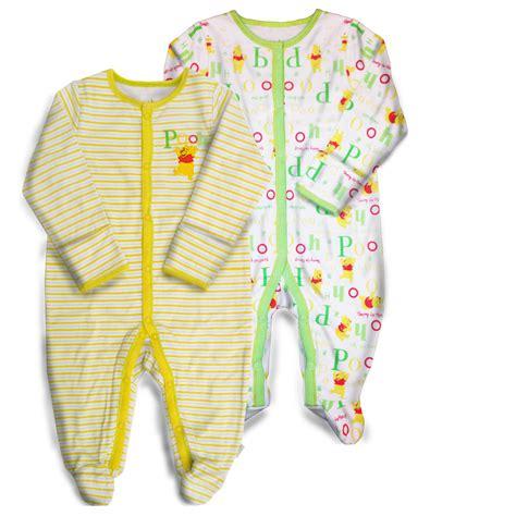 Winnie The Pooh Sleepers disney winnie the pooh infant s 2 pairs sleeper pajamas