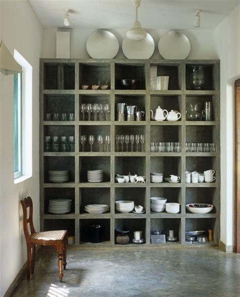 home interior shelves interior design ideas 12 inviting concrete interiors design milk