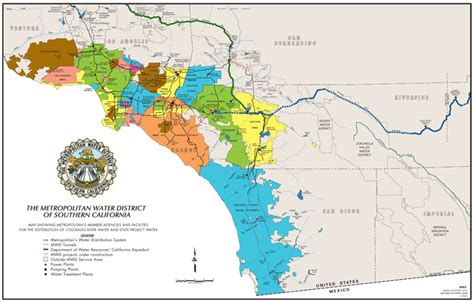 water districts map california water districts map california map