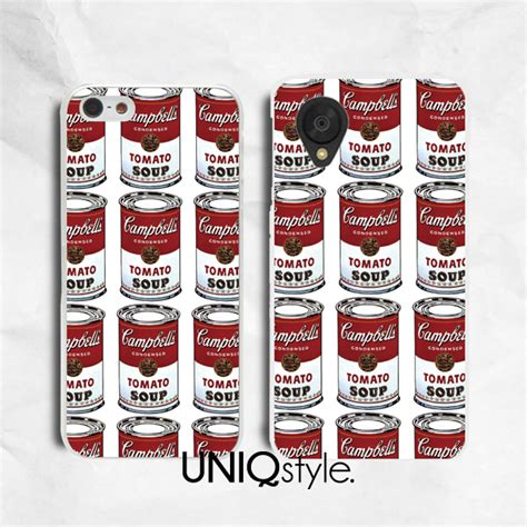 Samsung Galaxy S5 Casing Andy Warhol Design andy warhol cbells soup phone for iphone 7 6 6s tomato soup for samsung note 5