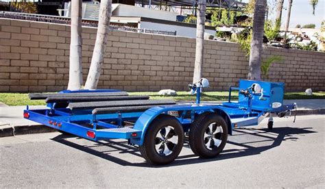 sea doo boat trailer tires shad 2 pwc trailer candy blue custom boat trailers