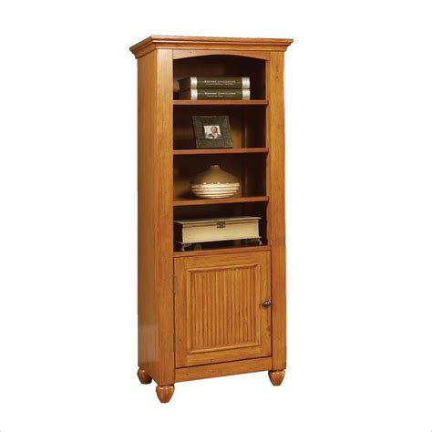 home styles furniture ponderosa 6 shelf wood bookcase