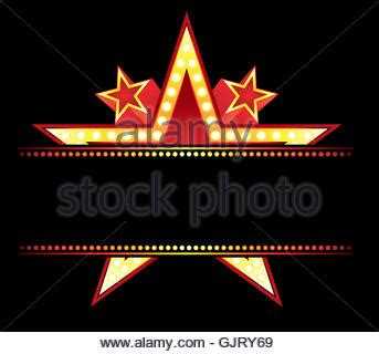 marquee sign a blank theater or theater marquee stock photo royalty free image 66791917 alamy