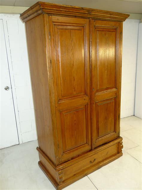 pine armoire wardrobe antique country pine armoire wardrobe provincial wrought iron antique country pine