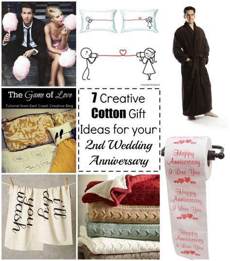 7 creative cotton gift ideas for your 2nd wedding