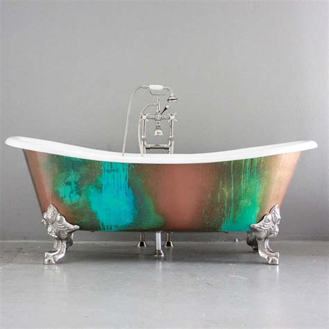 Mosaic Tiles In Bathrooms Ideas baignoire de couleur pour relooker et embellir votre salle