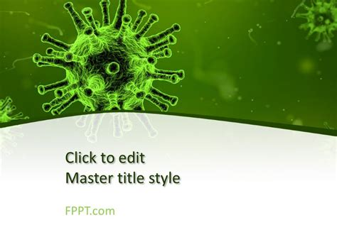 Free Biology Powerpoint Templates Virus Powerpoint Template Free