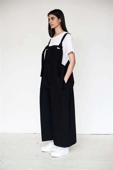 Strada Jumpsuit collina strada twill humpback overalls black garmentory