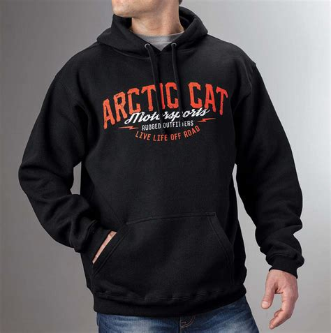 rugged outfitters arctic cat inc arctic cat rugged outfitters hoodie large arctic cat rugged outfitters hoodie