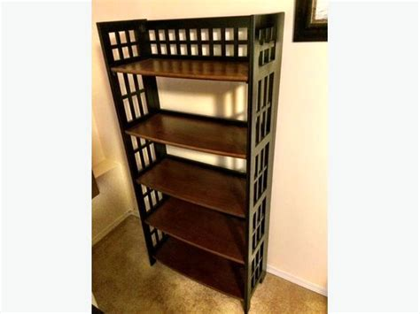 pier 1 imports folding bookcase saanich