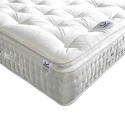 pillow top bed signature 2000 pocket sprung pillow top natural fillings mattress