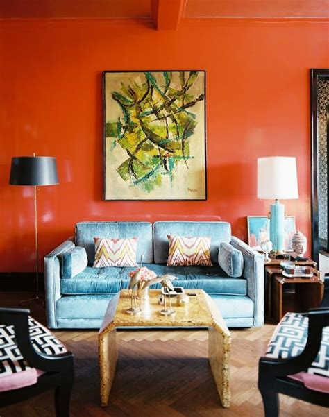 bright color schemes for living rooms