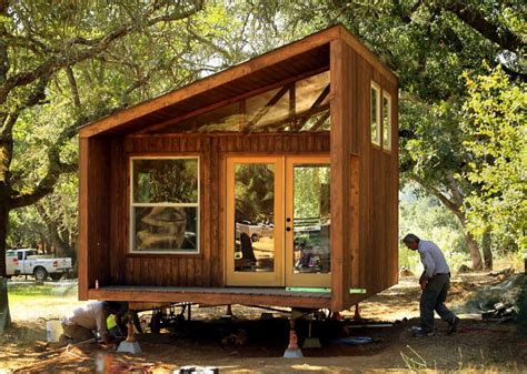 Tiny House Vacations by Tiny Wedge Cabins Coming To Spring Lake Regional Park