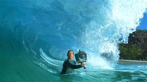 making   tv advert  wave photographer clark