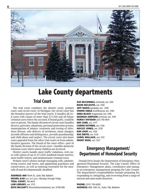 Lake County Circuit Court Records Lake County Fact Book 2017 By Shoreline Media Page 4 Issuu