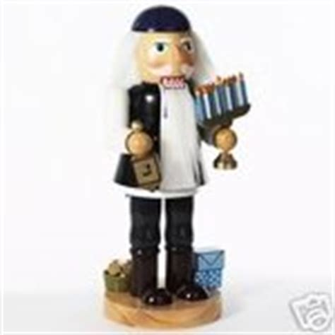 jewish hanukkah dreidel menorah wooden nutcracker new 11