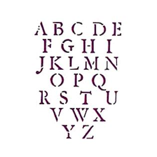 kerzenhalter 8 buchstaben bastelonlineshop de alphabete schablonen co