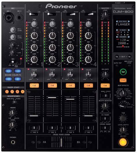 table de mixage pioneer djm 800 dj mixer new jsfrance