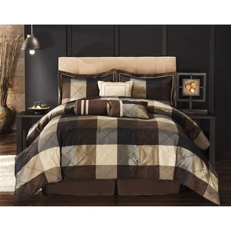 black and brown comforter sets