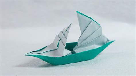 Origami Fishing Boat - best 25 origami boat ideas that you will like on