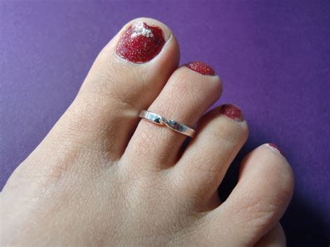 sterling silver toe ring simple twist toe ring silver