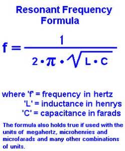 resonant frequency calculator