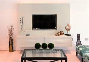 How To Decorate A Display Cabinet Flat Screen Tv Wall Cabinets Offering Space Saving