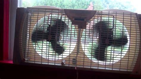 whole house window fan reviews dual window fan made by holmes youtube