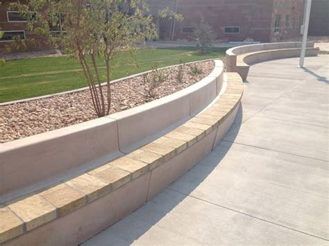 retaining wall bench hardscape retaining wall bench gardening and such