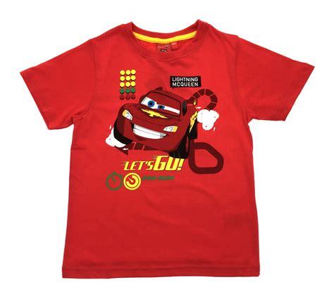 Mcqueen T Shirt by Boys Disney Cars Lightning Mcqueen T Shirt Sleeve