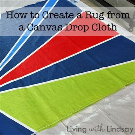 how to make an outdoor rug how to make an outdoor rug from a canvas drop cloth
