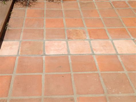 Saltillo Tile Before And After Staining Saltillo Tile Design Indulgence