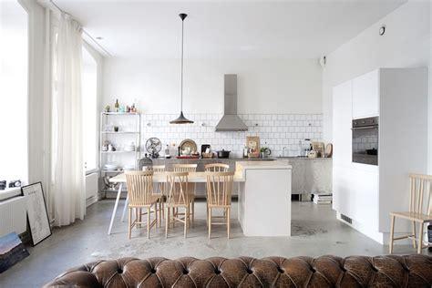 home inspirations une cuisine ouverte sur le s 233 jour