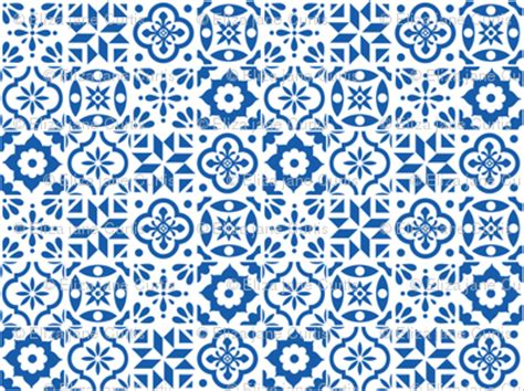 Geos Baby Motif Size M tile pattern smaller size fabric
