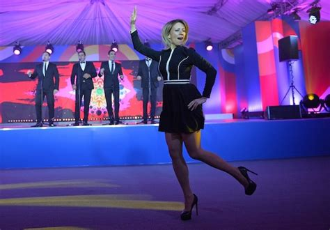 Russian Foreign Ministry Spokeswoman Zakharova Performs ...