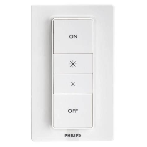 philips hue connected philips hue wireless connected dimmer switch 458158 the
