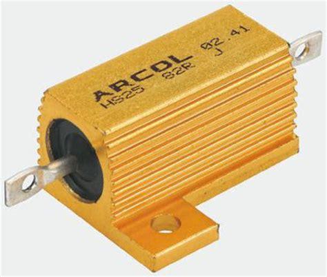 arcol resistors uk hs50 50r j arcol hs50 series aluminium housed axial panel mount resistor 50ω 177 5 50w arcol