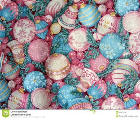 top 28 colored christmas decorations stock photo