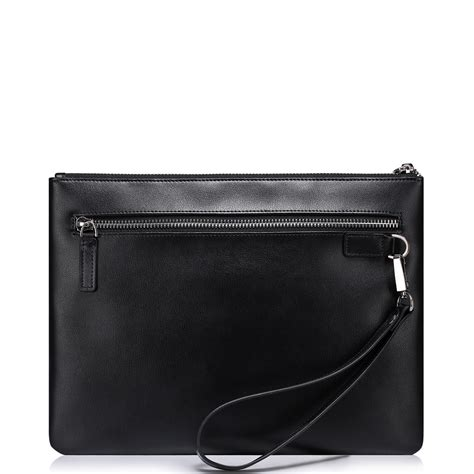 Clutch Bag Series sammons top pu leather new navigation series clutch bag black