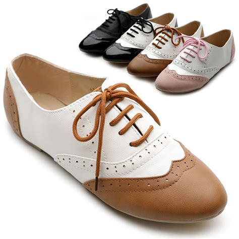 womens flat oxford shoes new womens shoes classics dress lace ups oxfords flats low