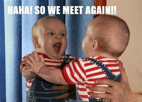 Hängematte Baby by Ha Ha So We Meet Again Funmunch