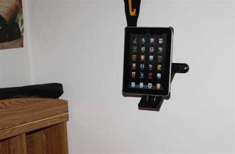 tablet wall mount diy lazy man tablet mounts the diy ipad mount allows it to