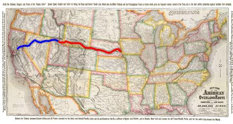 the sections of the transcontinental railroad join in transcontinental railroad