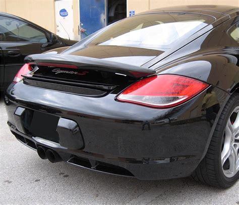 Porsche Cayman Rear Wing by 2005 2012 Porsche Cayman Aero Style Rear Wing Spoiler W