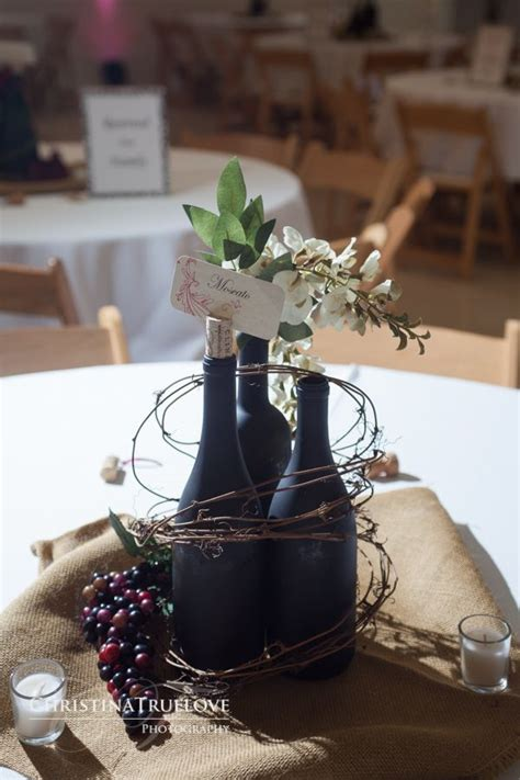 wine themed table decorations 31 beautiful wine bottles centerpieces for any table