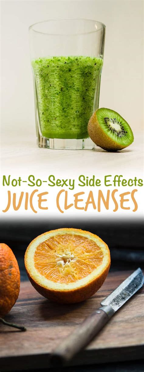 Effects Of Juicing Detox by Six Not So Side Effects Of Juice Cleanse Diets